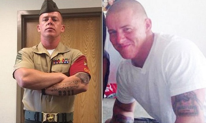 Marine corps tells decorated sgt with sleeve ink thank for Army officer tattoo policy