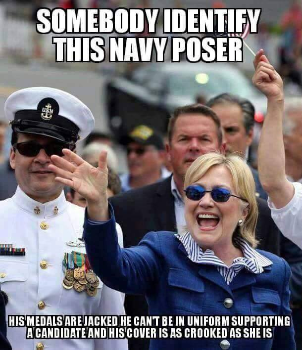 Did Hillary Pay An Actor To Pretend To Be Military
