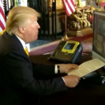 president trump's live conference